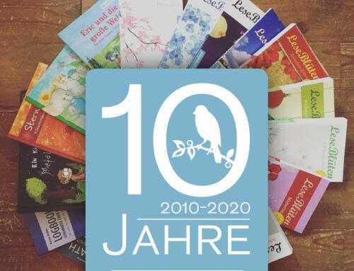 Verlagsinterview zum 10-jährigen Jubiläum